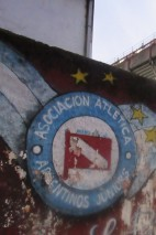 I took the subway and then a cab to my first game on South American soil. On exiting, the cab driver looked me solidly in the eye and solemnly told me to watch my back. This was a Buenos Aires derby. No away fans. But with me in alien territory. This was it, Chris, this was it.