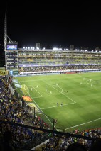 On twenty-two minutes, Franco Soldano followed up a shot that was saved to steer home and give Boca an early lead. The noise levels increased, and the players drowned in the adulation.