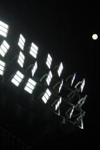 Moon. Lights.