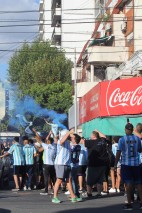 Flares and replica shirts. They love their replica shirts - all types, all seasons, all styles, fakes and all - in Buenos Aires.